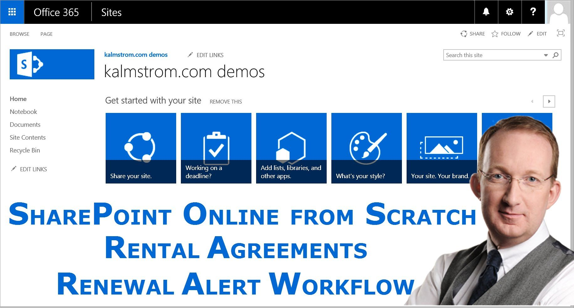 Create A Sharepoint Workflow That Sends An Alert  Sharepoint