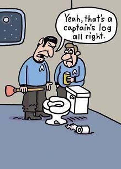 Hahahaha Bathroom Humor Is Funny Shit Rip Leonard Nimoy