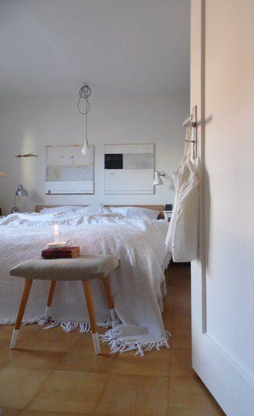 Blick ins Schlafzimmer....