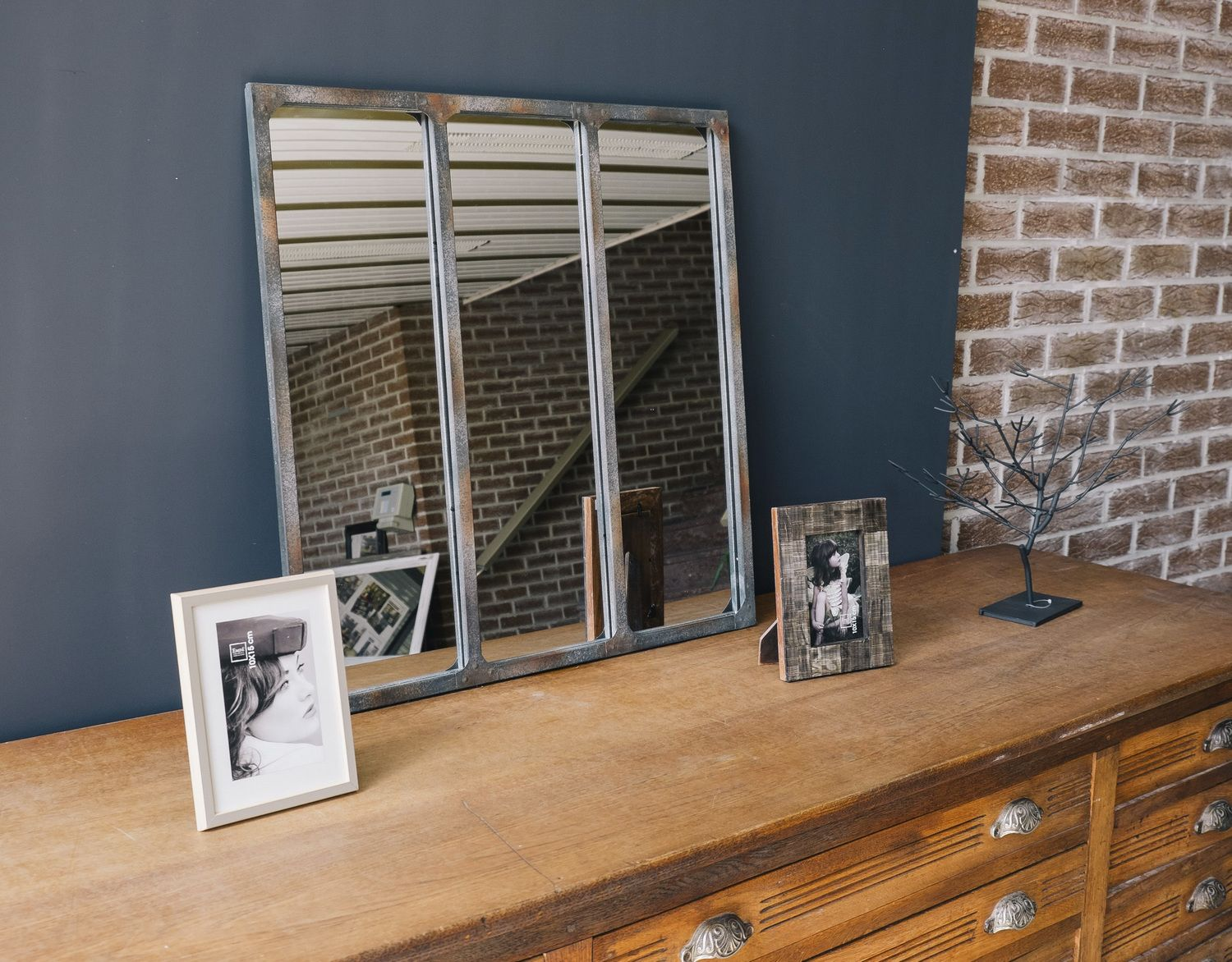 miroir 3 bandes style r cup chic gustos 2 pinterest