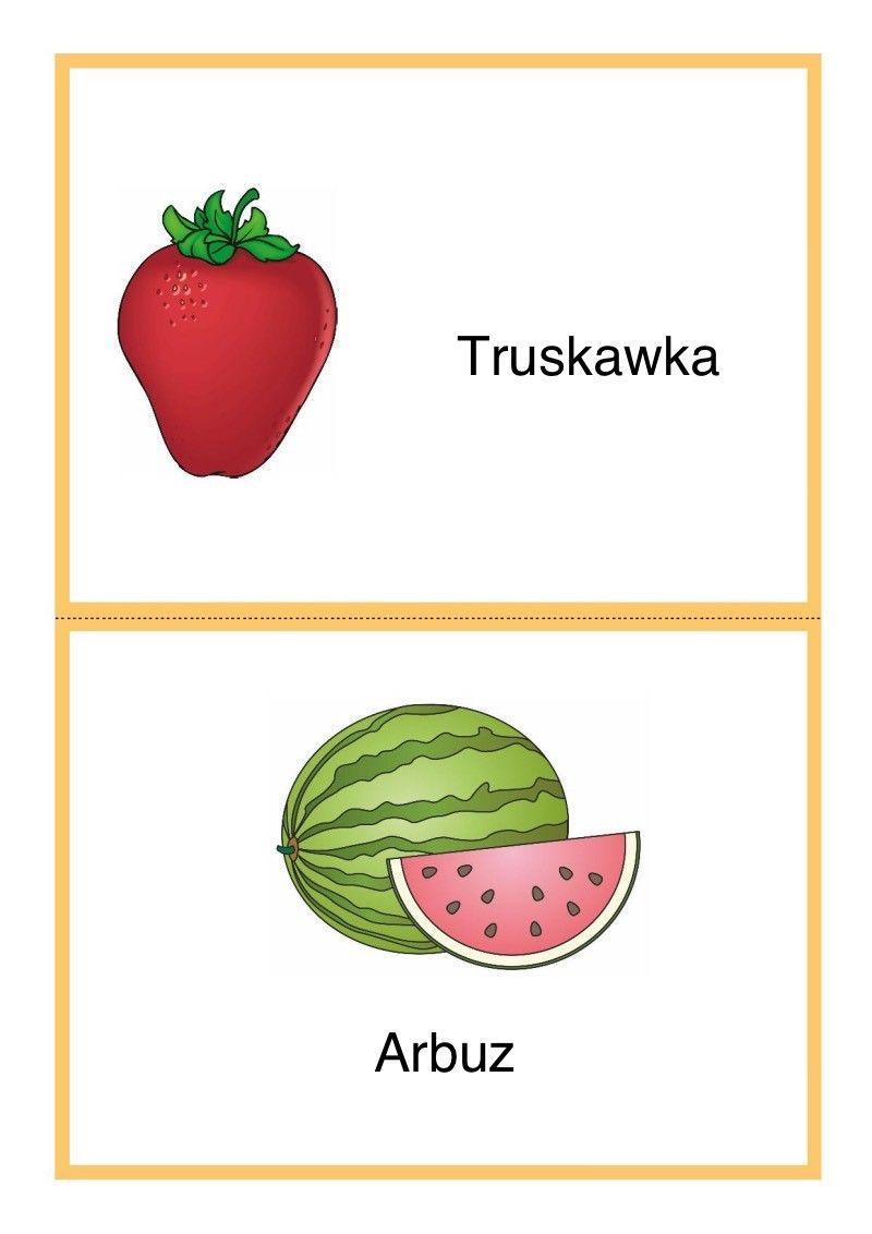 Tablice Edukacyjne Owoce Do Druku 6 Mario Characters Children