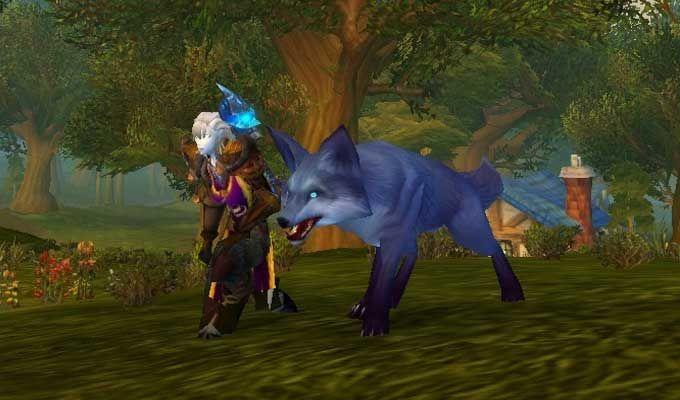 Worldofwarcraft Wowmounts Wowgold Wowleveling Wowpets Dancing Fox Named Ashtail Cool Wow Pet