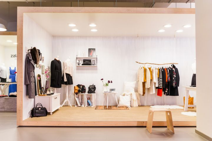 ea8ed7144d Zalando + ZLabels showroom by Real Innenausbau