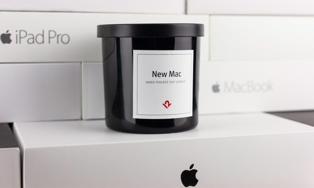 This Candle Smells Like a New Mac