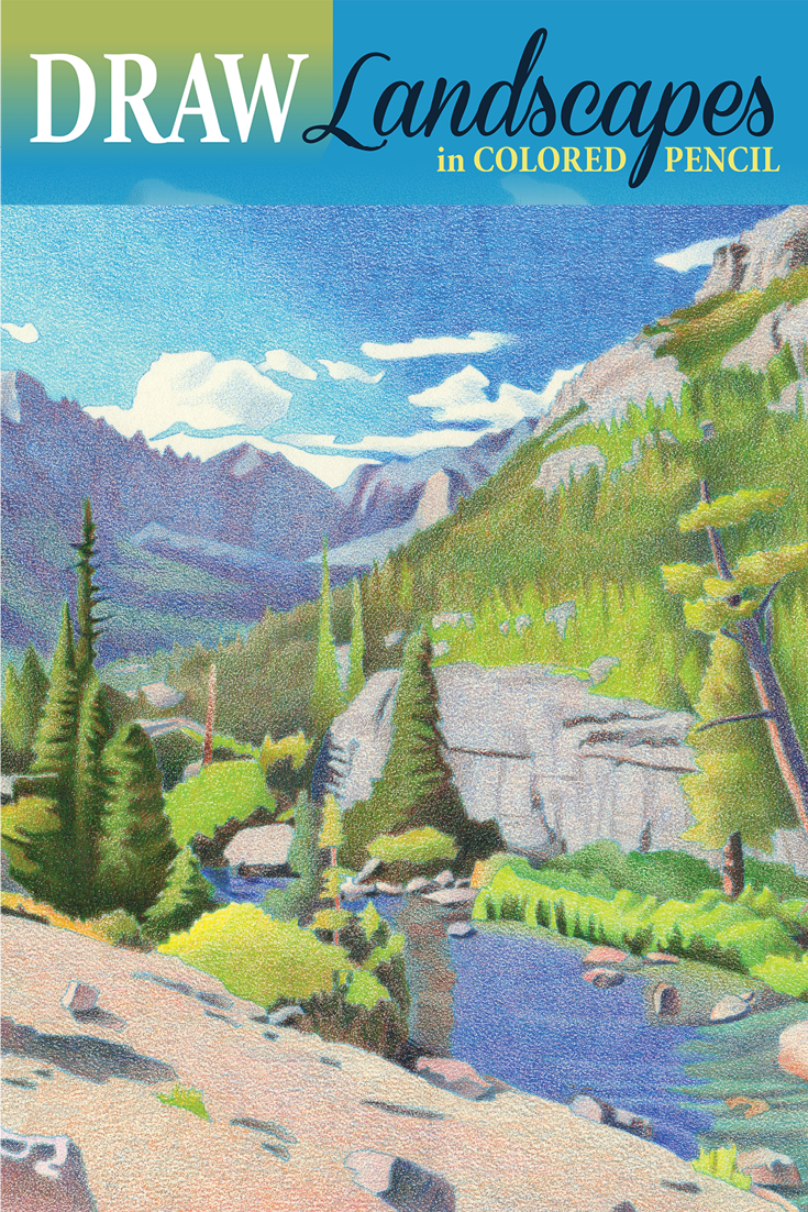 DRAW Landscapes in Colored Pencil | TO PAINT | Pinterest | Colored ...