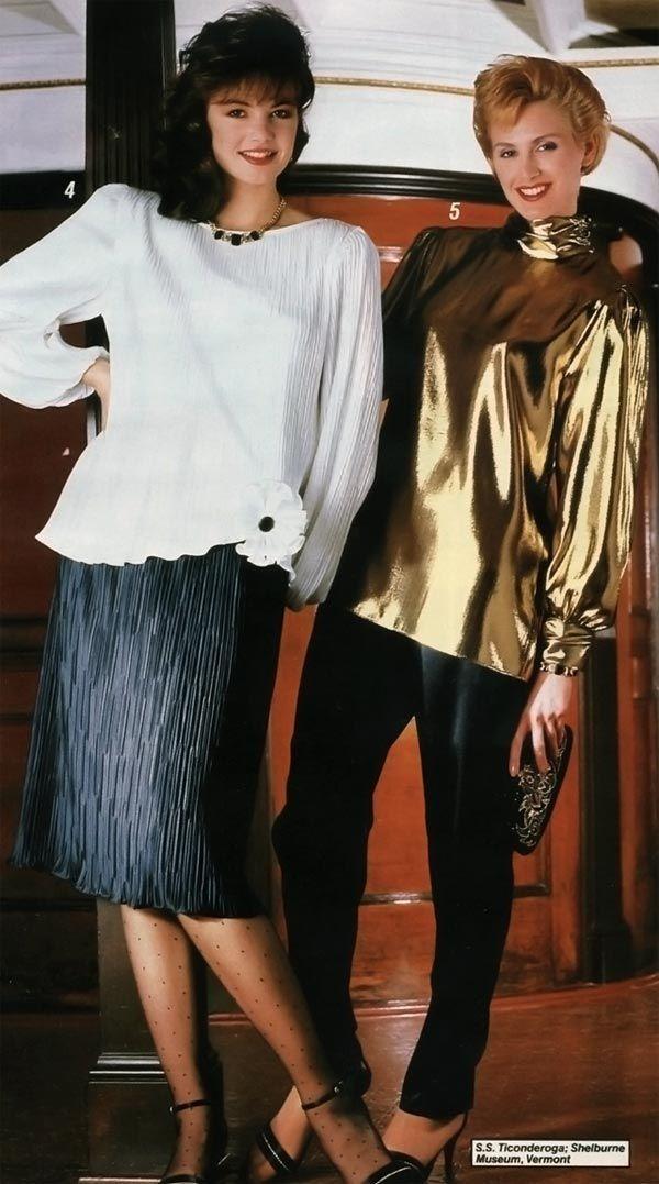 最良かつ最も包括的な 80s ファッション - 印字米が