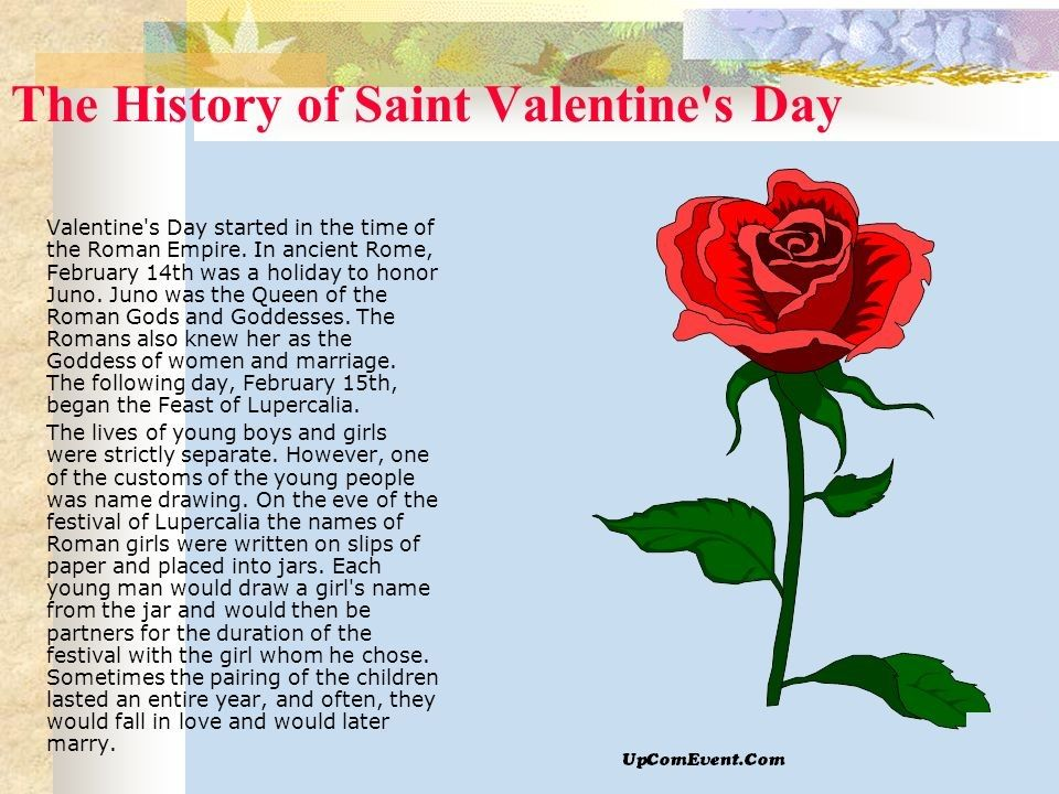 How Valentine S Day Started Valentines Day History History Of St Valentine Valentines Day Background