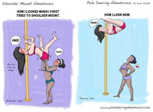 Pole Dancing Adventures Pda The Original Pole Dance Webcomic Series Pole Dance Moves Pole Dancing Pole Dancing Quotes