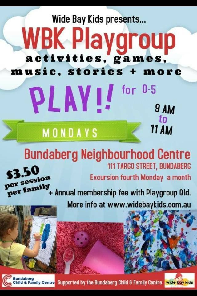 playgroup flyer google search