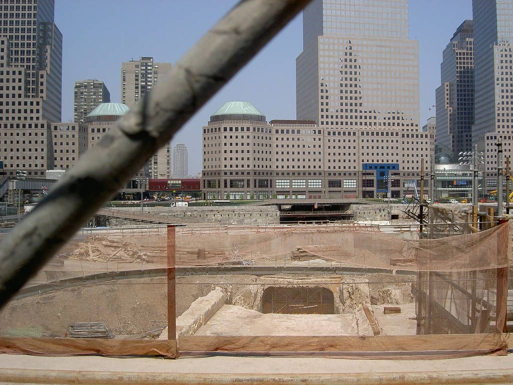 Ground Zero, Feb 2003 #groundzeronyc