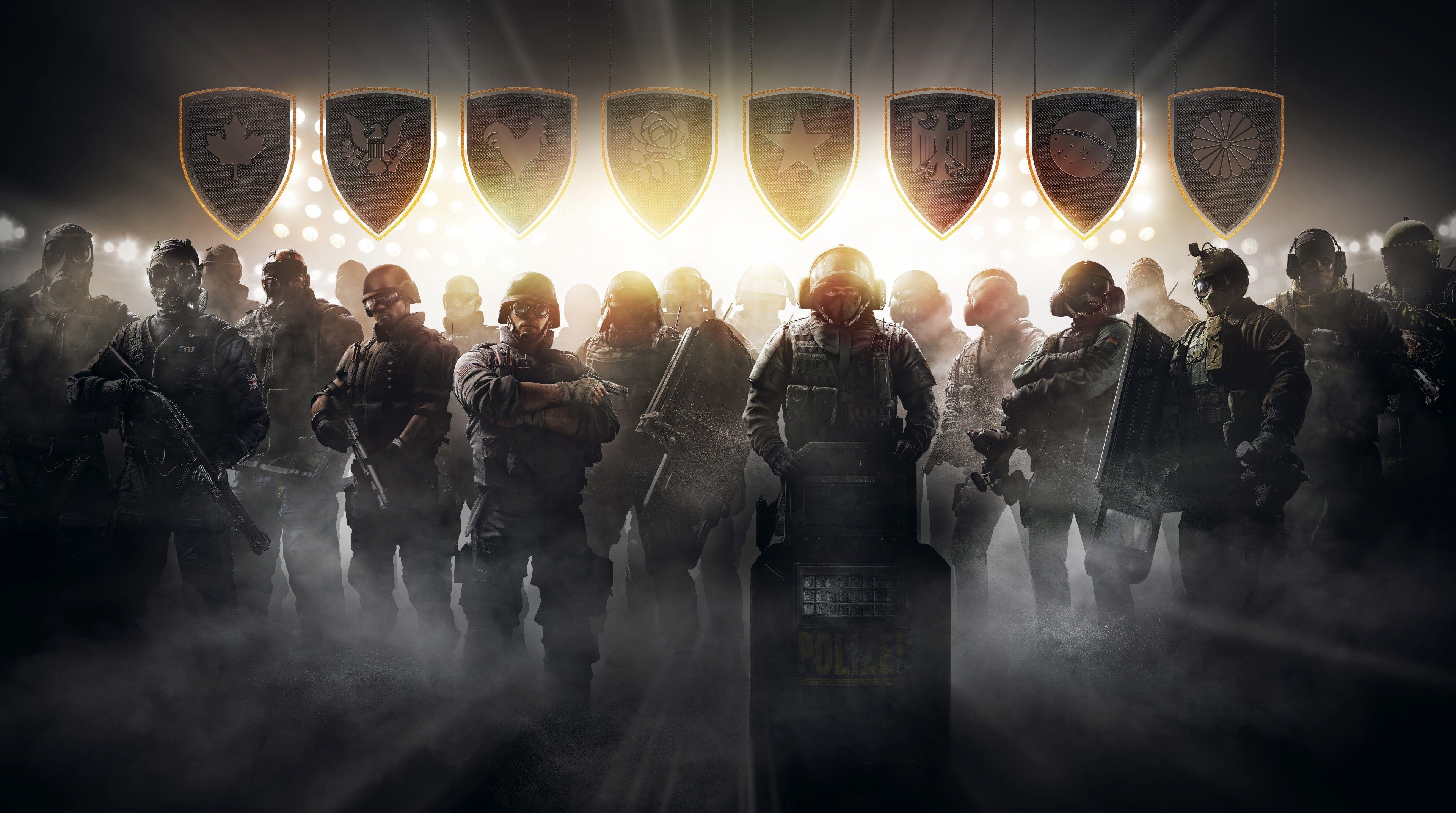 3840x2145 Tom Clancys Rainbow Six Siege Pro League 4k Latest