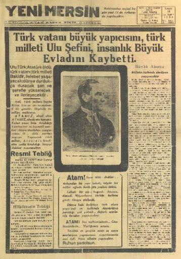 #MustafaKemalAtatürk #10KASIM #1938