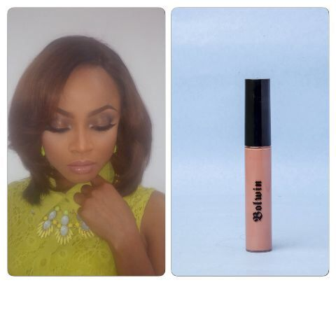 We  this look on #TokeMakinwa - Products used #Bolwin Nude Lipstick 601 #Bolwin Embrace Lip Gloss & #Bolwin Cameo Lip Liner - Facebeat done by the very talented @anitabrows We are now taking orders for #BolwinCosmetics #affordable and superb quality. Ask for our #wholesale price list or drop your #Email addy for details