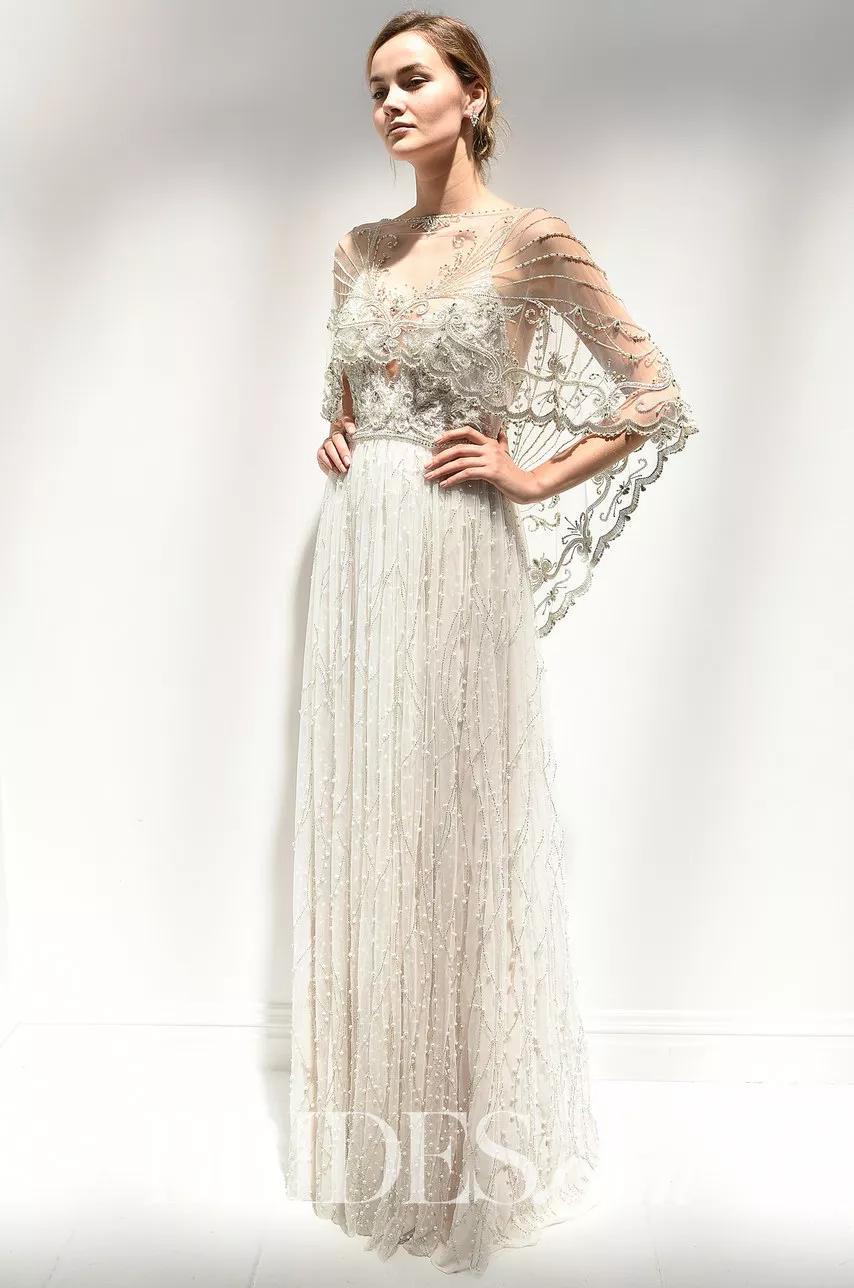 22 Chic And Cozy Bridal Shawls For Every Season 1920s Wedding Dress Wedding Dress Inspiration Romantic Wedding Dress Elegant