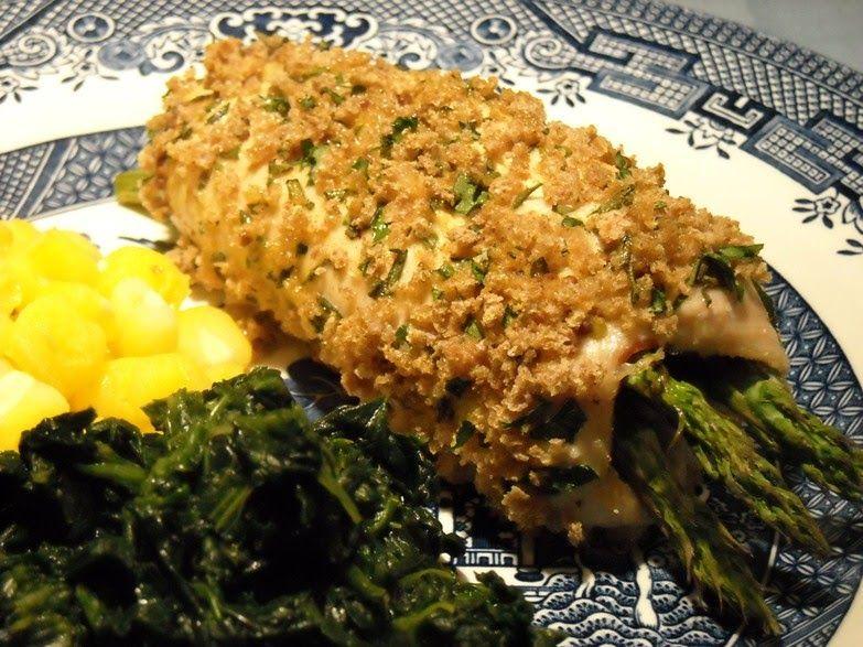Diabetics Rejoice!: Crispy Chicken Asparagus Bundles