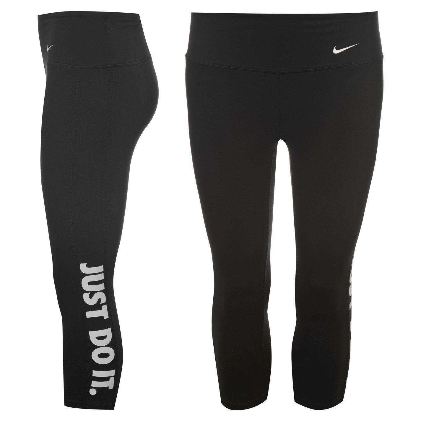 £17.50 sportsdirect Nike | Nike Graphic Capri Pants Ladies | Ladies Three  Quarter Pants