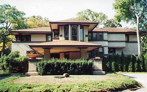 Ward w willits house prairie style frank lloyd wright for Frank lloyd wright craftsman style