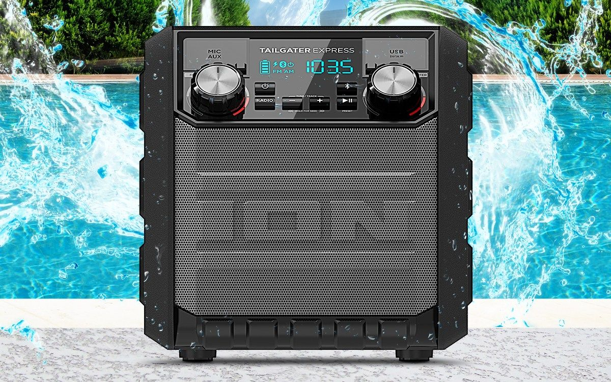 The 5 Best Portable Outdoor Radios 2018 Portable Speaker System Radio Outdoor