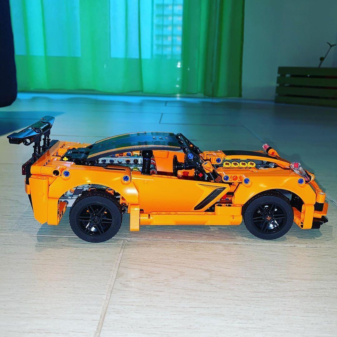 Chevrolet Corvette Zr1 Lego Technic 42093 Lego Afol