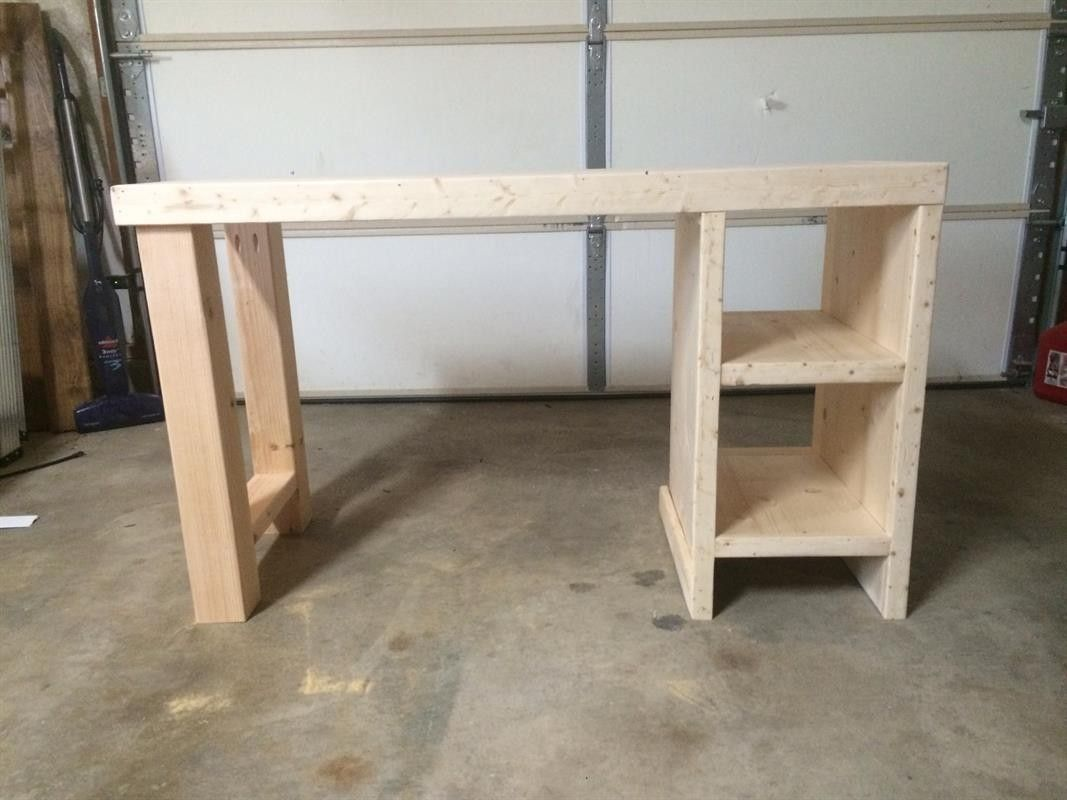 Solid Wood Axel Desk Modern Wood Desk Office Desk Designs Desk