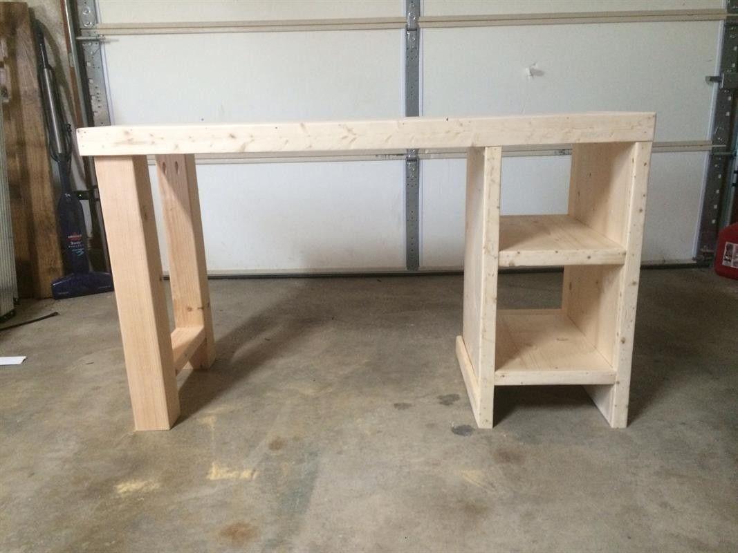 Homemade Desk Ideas Nana S Workshop Diy Furniture Easy