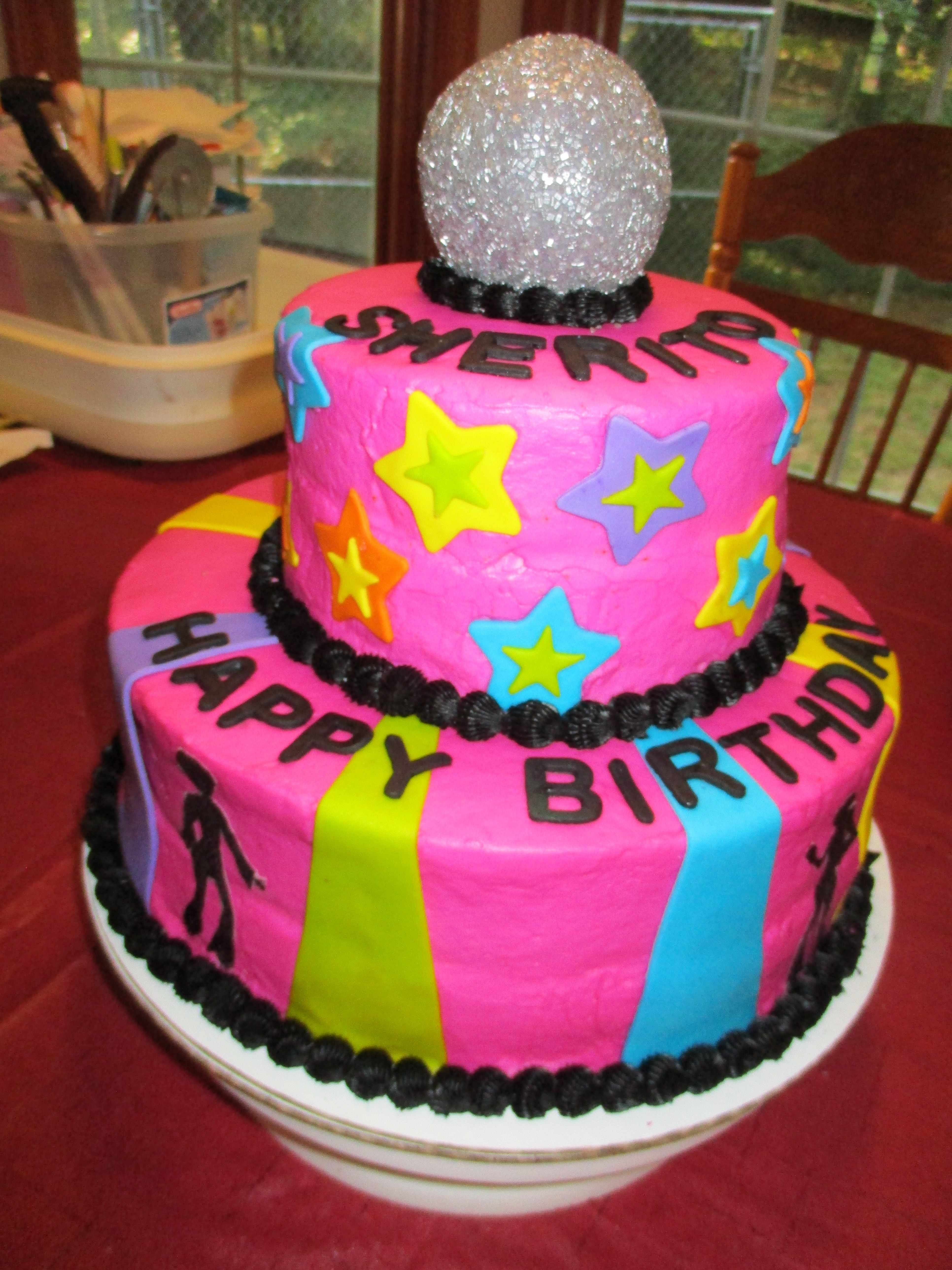 70s Disco Birthday Cakes Pinterest Discos And Birthdays