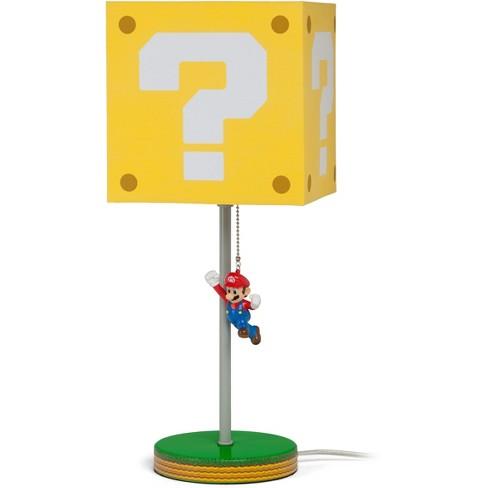 14in Nintendo Super Mario Block Table Lamp images
