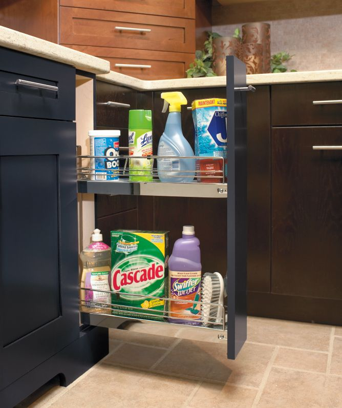 Make The Most Of Wasted Space With Kitchen Craft S Corner Pantry Cabinet The Possibilities Are En Kitchen Craft Cabinets Kitchen Crafts Kitchen Cabinet Styles