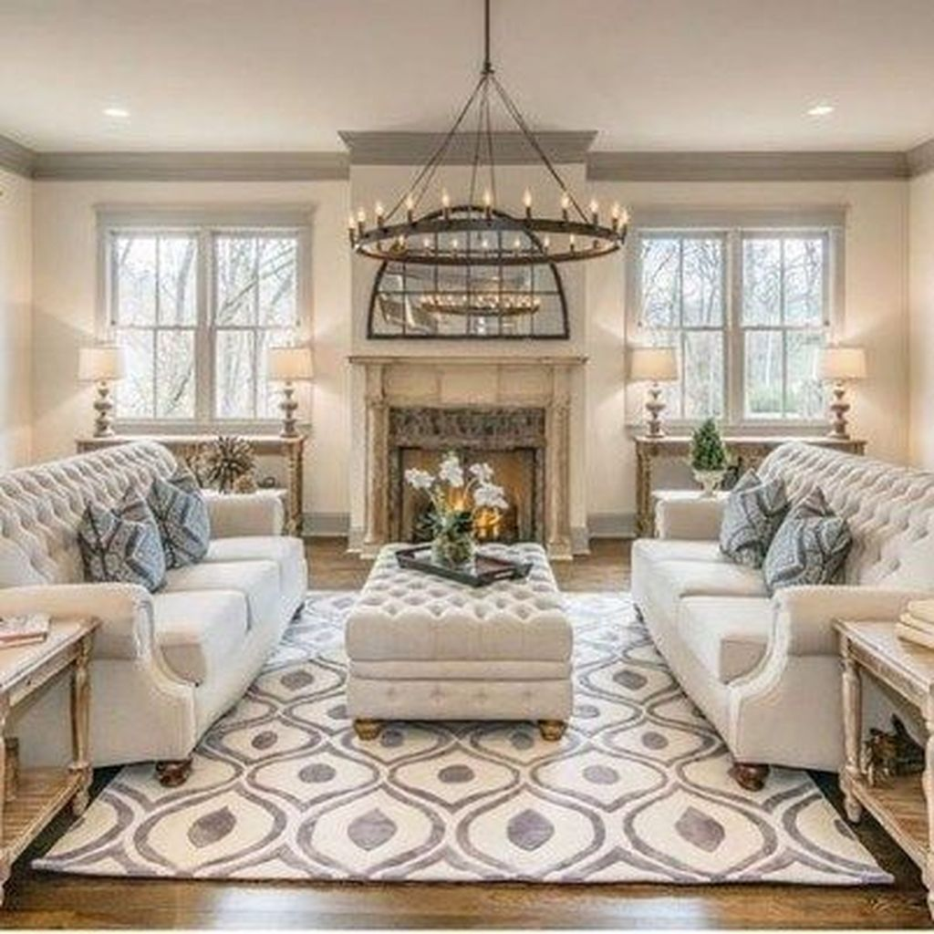 20 Lovely Living Room Design Ideas With French Country Style Farmhouse Style Living Room Farm House Living Room French Country Living Room