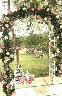 5 razones para utilizar un arco de flores en tu boda - Arcos de ladrillo rustico ...