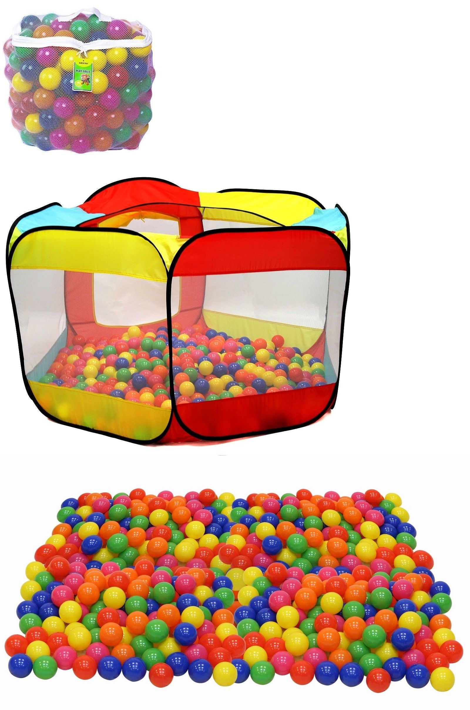 Pit Balls Small Ball Pit Cool Toys For Boys Age 2 Toddler