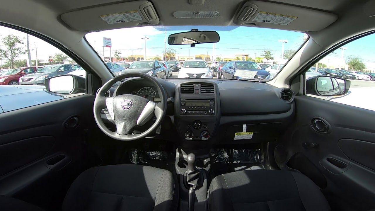 Interior Of Nissan Versa Di 2020