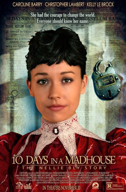 This is the trailer to 10 Days in a Madhouse, a movie which follows the historical adventures of journalist Nellie Bly (real name Elizabeth Cochrane). Bly's undercover reporting on the horrific...