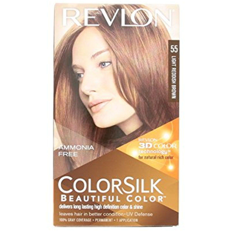 Revlon Colorsilk Beautiful Color Light Reddish Brown 55 You Can