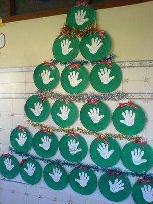 Esos locos bajitos de infantil manualidades navide as - Mural navidad infantil ...