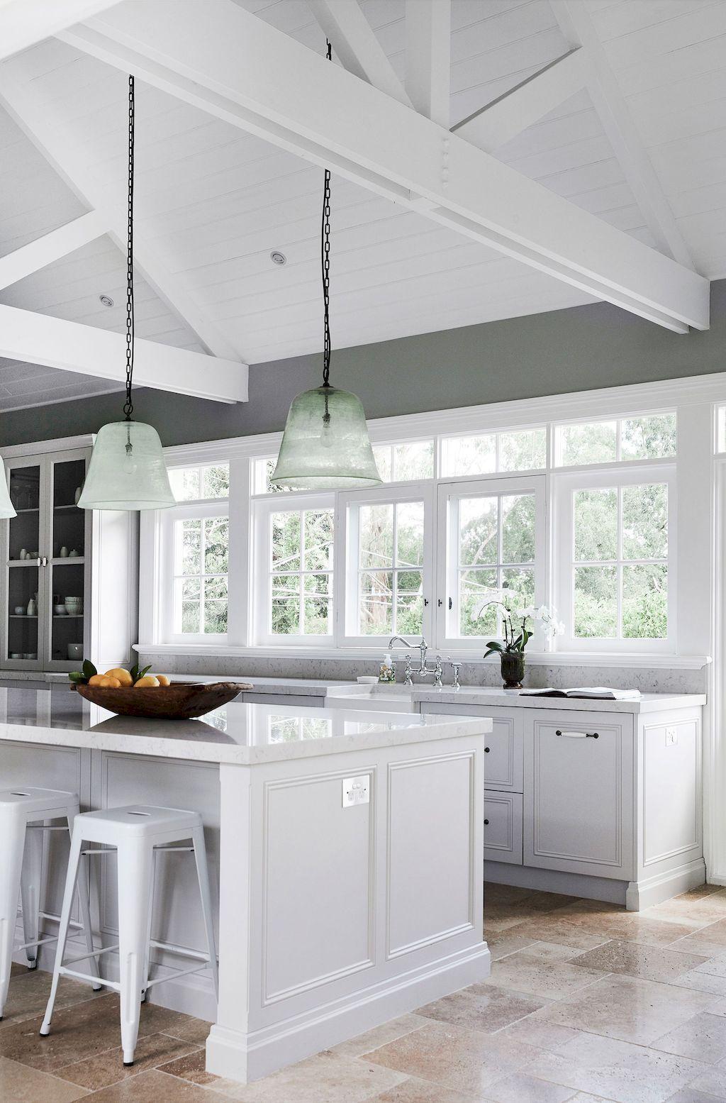 Best 60 Kitchen Pendant Designs Shairoom Com Kitchen Cabinet Door Styles Antique White Kitchen French Country Kitchens