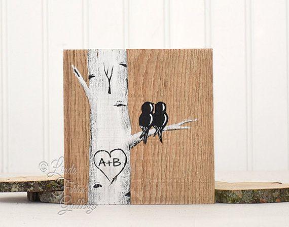 Bois rustique panneaux bois récupéré d'Art par LindaFehlenGallery