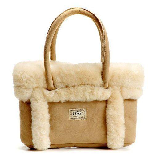 UGG Sundance Grab Handbags with Sand for Cheap