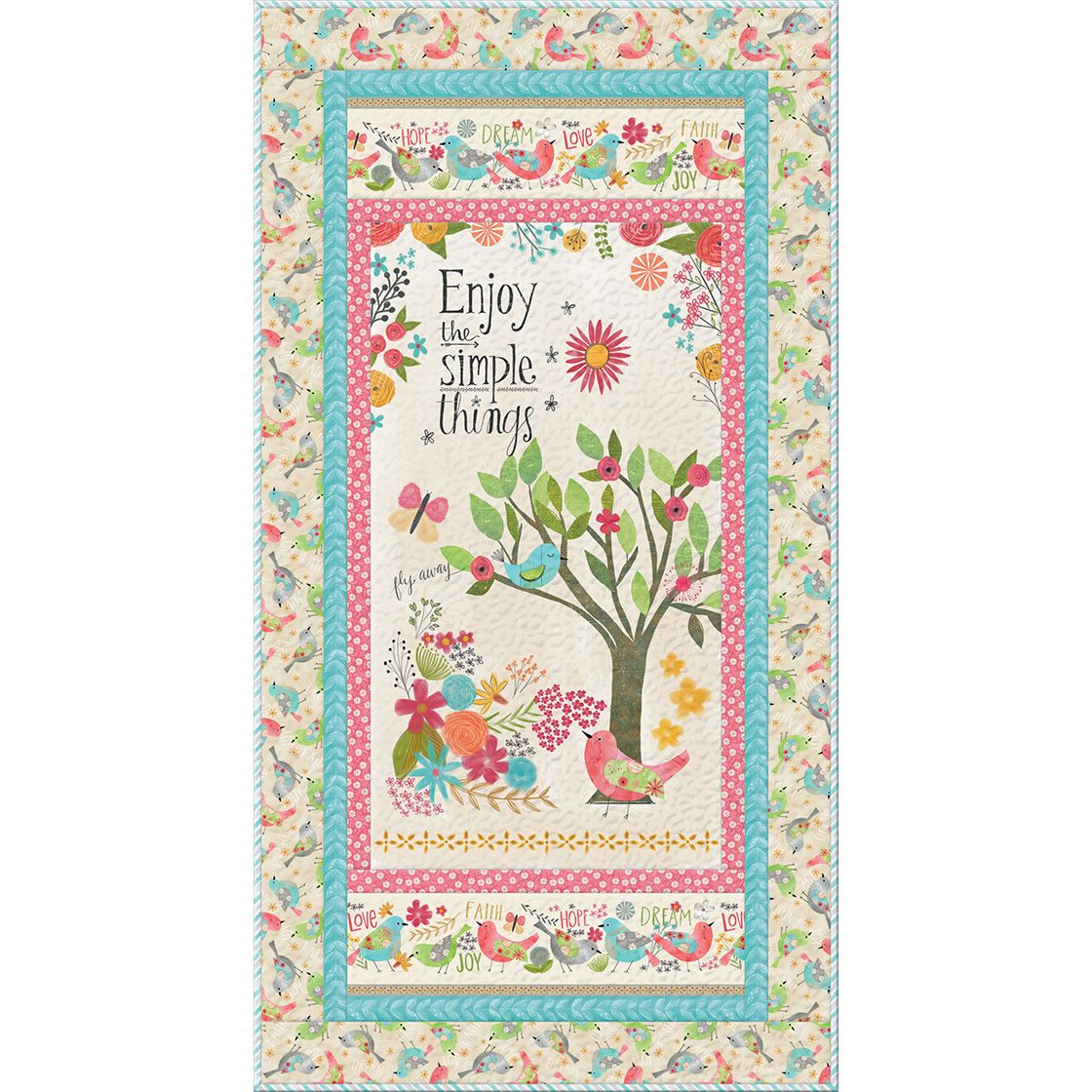 Wilmington Prints Believe You Can Wall Banner Quilt Kit