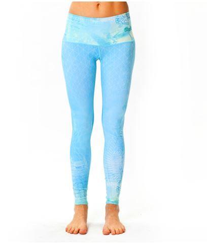 teeki stylish yoga hot pants ganesha's dream in light blue