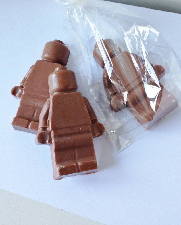 Chocolate LEGO Man – Rainy Williamson cakes & crafts | Chocolate ...