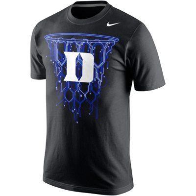 Nike Duke Blue Devils Net T Shirt Black Basketball Shirt Designs Duke Blue Devils Duke Blue Devils Basketball