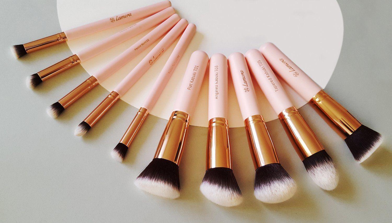 Kabuki Makeup Brush Set Foundation Powder Blush