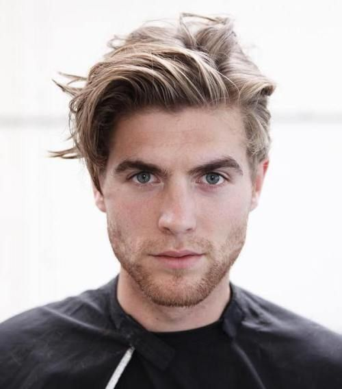 Mems Hairstyles Glamorous 50 Statement Medium Hairstyles For Men  Pinterest  Medium Blonde