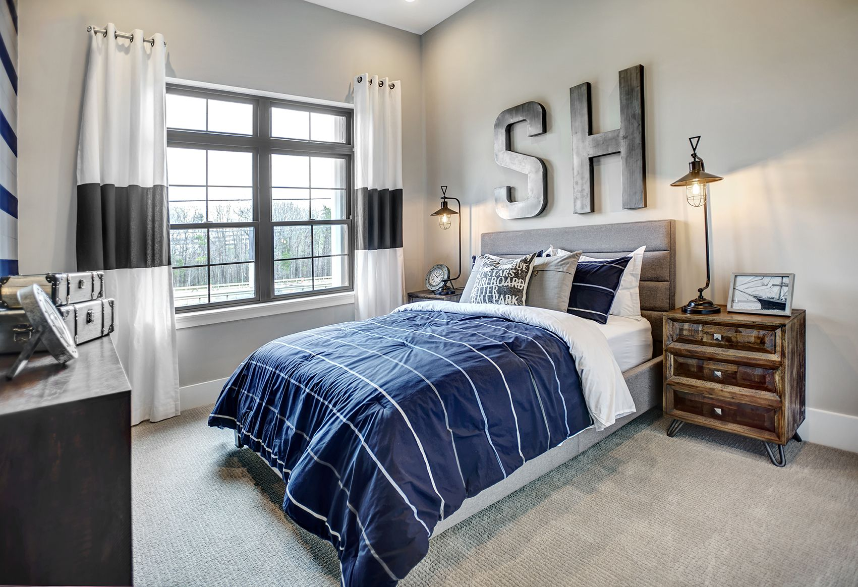 Guest Room Charleston Earnhardt Home New Designs Custom Homes