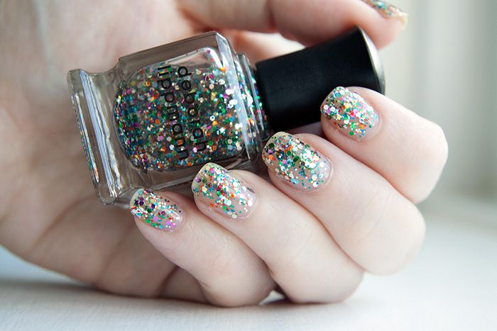 Deborah Lippmann Hy Birthday Notd A Makeup Beauty Blog Lipglossiping
