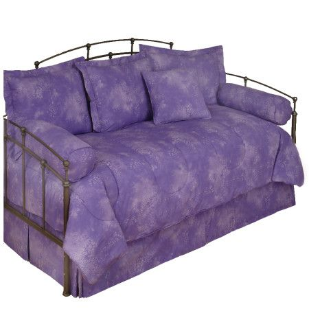 Caribbean Coolers Tie Dye Purple Lilac Daybed Comforter ...