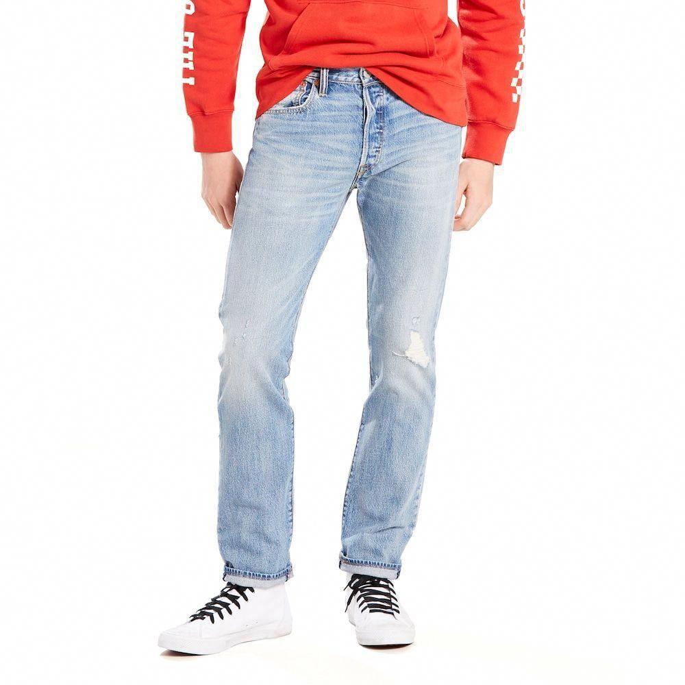 08d25106 Men's Levi's® 501™ Original Fit Jeans, Med Blue #MensJeans #mensjeansfit
