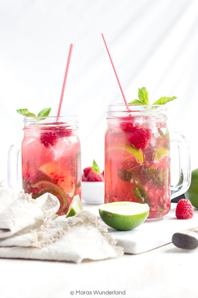 Cocktail Time: Raspberry Mojito • Maras Wunderland