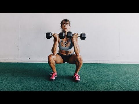 21 Dumbbell Leg Exercises - YouTube | Leg workout ...